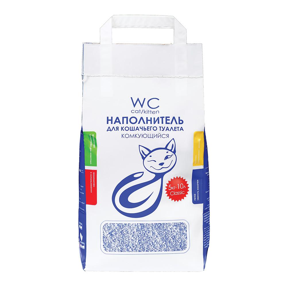 Наполнитель кошачьих туалетов «WC Cat/Kitten», 5 кг